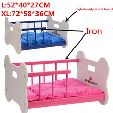 High quality Iron&high-density wood board dog Bed Pet Dog House Lovely Soft Suitable cat Pet bed