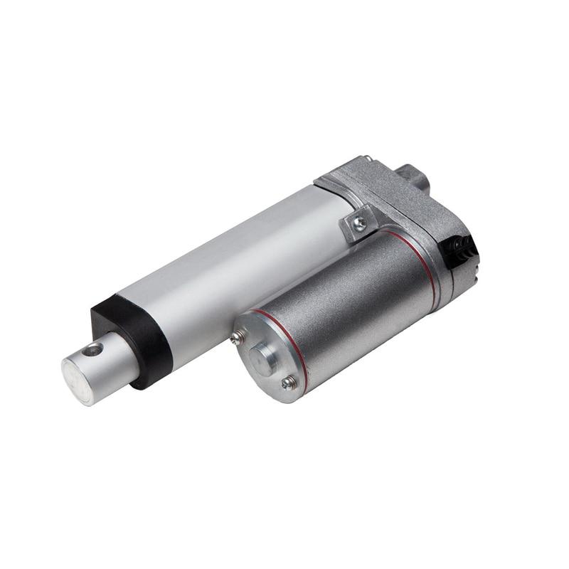 250mm stroke 12V 24V 5mm/s speed 100N load Waterproof mini linear actuator LV1 type<br>