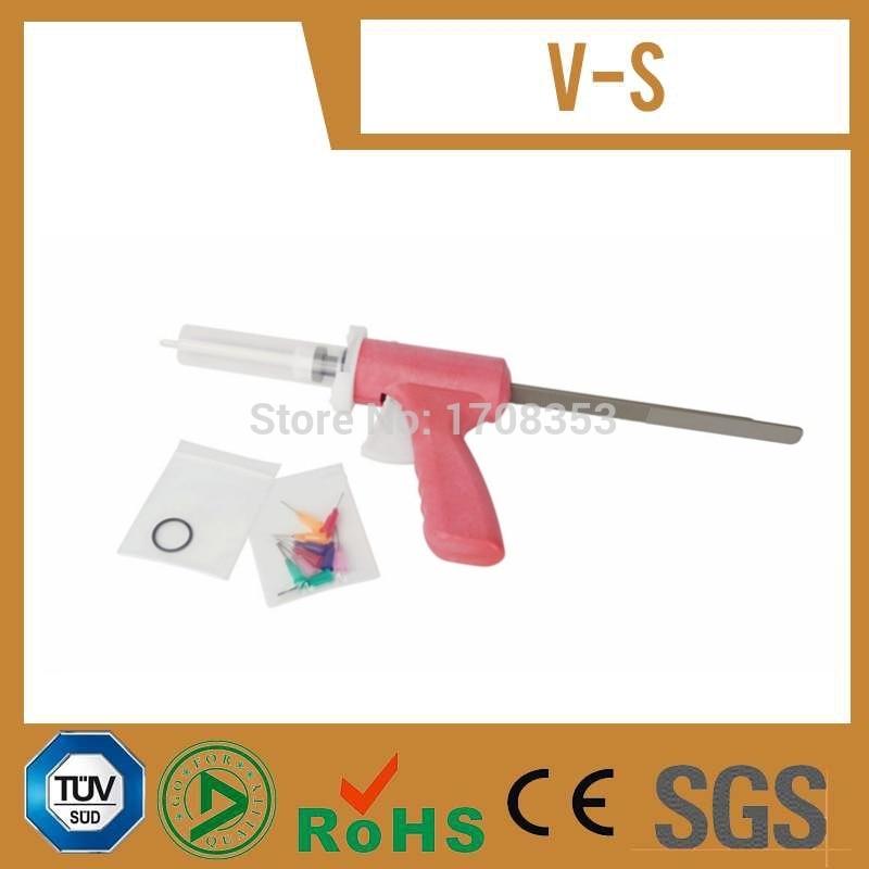 Metcal 910-msg 10cc polypropylene manual syringe gun for foot valve dispensers