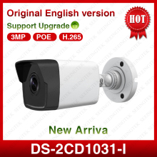 New HIK original DS-2CD1031-I 3.0 MP POE Fixed Dome Security CCTV IP  Camera  Replace 2035-I 2032-I