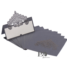 120PC/lot Crown Party Table Name Place Cards Casamento Souvenirs Wedding Invitations Decor Queen Princess party Cost Price(China)