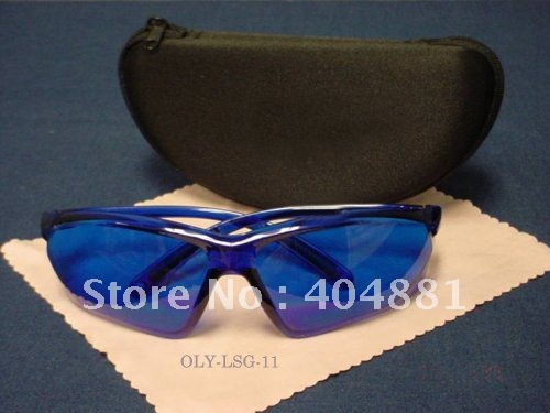 laser safety glasses 190-400nm &amp; 580-760nm style 7O.D 4 + CE High VLT%<br>