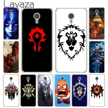 Lavaza World of Warcraft wow logo White Cover Case for Meizu M3S M3 M2 Miniu M2 M3 M5 Note M5S U10 U20 Pro 6(China)