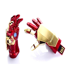 New For Avengers Iron Man LED pen drive usb flash drive 8GB 16GB 32GB pendrive memory card pendrives free shipping from china