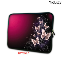 Red butterfly mini 7.9 laptop sleeve soft notebook bag tablet case 7 mini PC protective cover for ipad mini 4 case TB-5567(China)