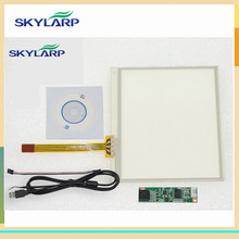 skylarpu NEW 3.5 inch 4 Wire Resistive Touch Screen Panel USB Controller for 77*64mm Screen touch panel Glass Free shipping(China)