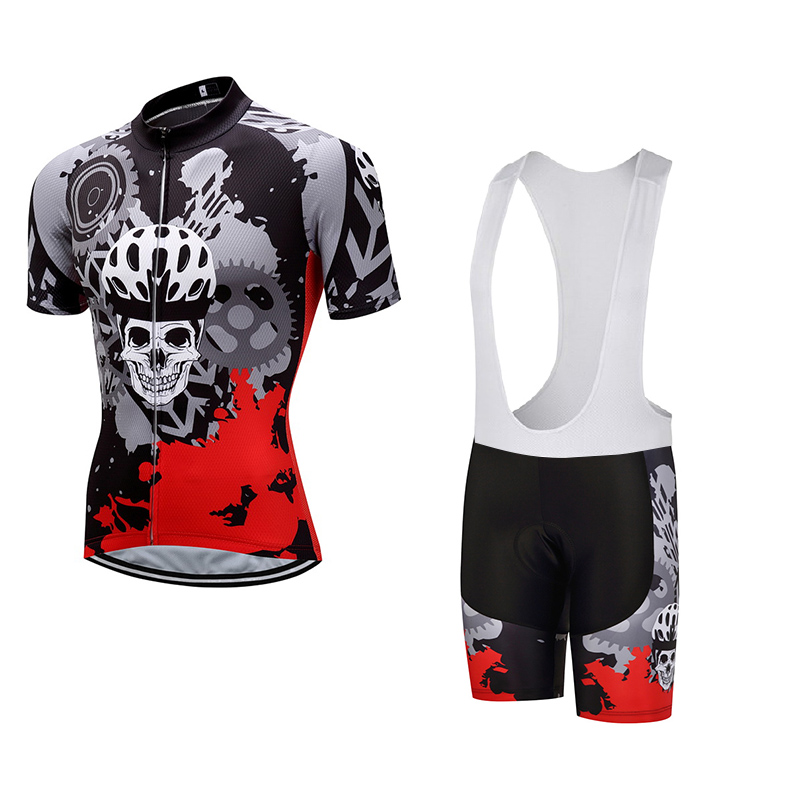 2017 pro team Cycling Jersey Bib Short Sets Men Summer Cycling Clothing Kits Male Breathable Mountain Bike jerseys sets helmet<br>