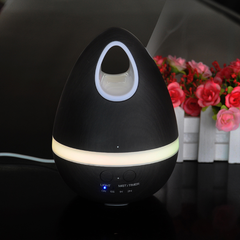 2017 New Colorful Egg Aroma Diffuser EU/US Plug Air Humidifier 5 Colors Changing Night Light Essential Oil Mist Maker<br>