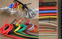 24AWG 1.6mm OD Flexible Soft Tinned Copper Silicone Wire RC Cable UL High Temperature 5 Meters