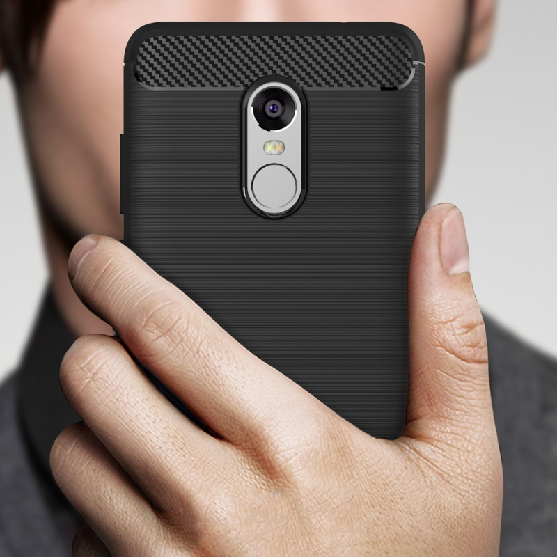 Shockproof Armor Carbon Fiber Cases Xiaomi Redmi Note 4X Case Silicone Coque Capa Xiaomi Redmi Note 4X Cover TPU 5.5