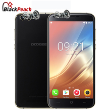 DOOGEE X30 Dual Rear Camera Mobile Phone 5.5 Inch HD MTK6580 Quad Core Android 7.0 2GB RAM 16GB ROM Dual SIM Card 3G Cellphone(China)
