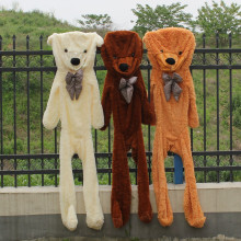 1PC Giant Bear Skin 200cm Teddy Bear Skin Plush Toy Teddy Bear Coat Kids DIY Birthday Gift