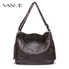 2017 Promotion Rushed 100% Genuine Leather Women Handbags European And American Style Female Shoulder Bag Simply Design Plaid(China)