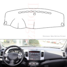 Fit For Mitsubishi Outlander 2006-2012 Car Dashboard Cover Avoid Light Pad Instrument Platform Dash Board Cover