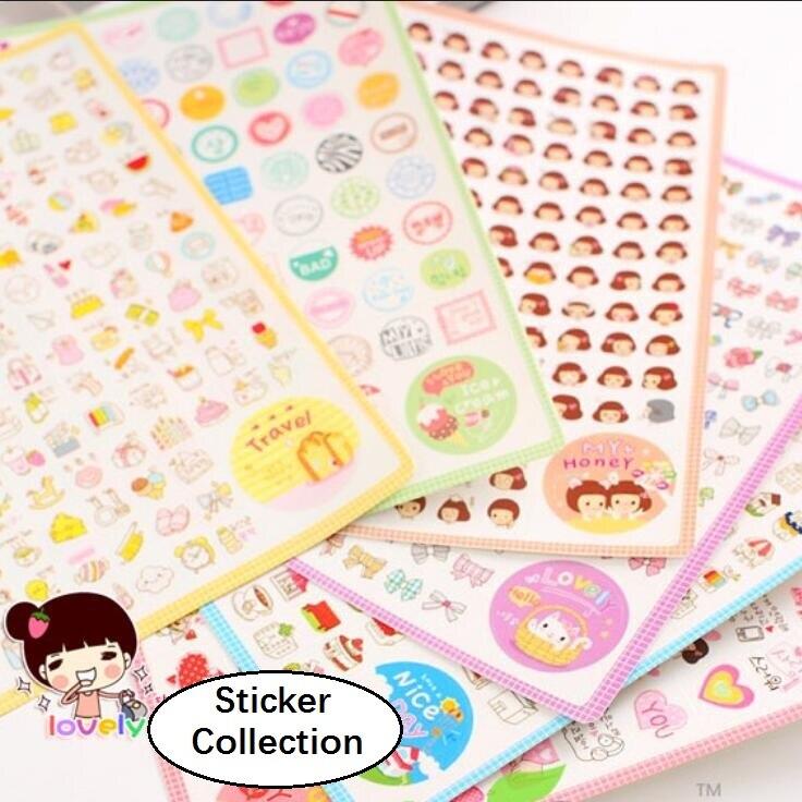 46Pcs//Pack Paper Stickers Decorative Travel Scrapbooking Seal Sticker Prevalent
