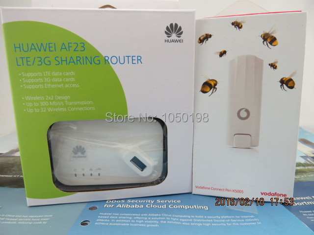 unlocked Huawei K5005 4G LTE usb wireless Modem 100Mbps  +HUAWEI AF23 LTE sharing Dock<br><br>Aliexpress