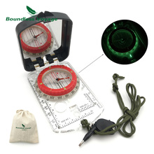Boundless Voyage Outdoor Camping Climbing Multifunction Geologic Compass with Fluorescent&Small Light BVC07(China)