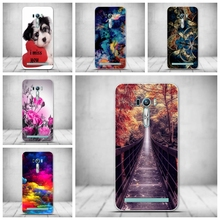 Case for ASUS ZenFone 2 Laser ZE500KL Case Printing Back Silicon Cover for Funda Asus ZE500KL Phone Case Capa Soft TPU Bag Cover(China)