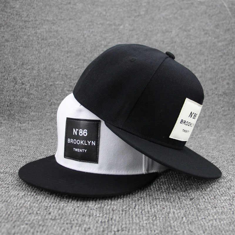 7c8f816a6c04a Classic N.86 Snapback Hats Men Women Baseball Cap Female Male Hip Hop Bone  Cap