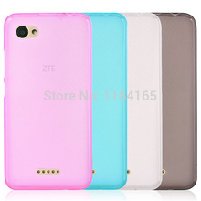 Quality Pudding Anti Skid Soft Silicone TPU Protection Case for ZTE Blade A601 / BA601 / 5 inch Skin Gel Cover