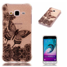 Bling Bling Phone Case For Samsung Galaxy J3 2016 J320 J320F Back Cover Soft Both IMD TPU Cases for Samsung Galaxy J300 J310(China)
