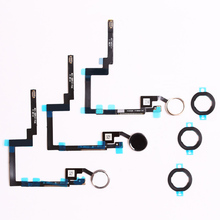 For Apple iPad Mini 3 Home Button Assembly flex cable Silver best quality free shipping black white and god A1599 A1600 A1601