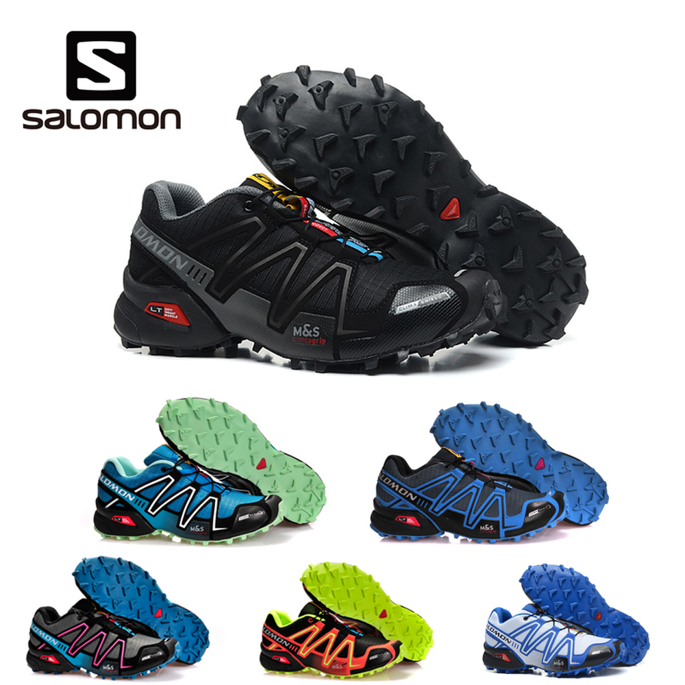 Salomon Speedcross 3 CS Sport Men Shoes Outdoor Breathable Zapatillas Hombre Mujer Male Fencing Sneakers Speed Cross 3 tennis(China)