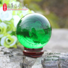 Free Shipping Dia. 6 cm Acrylic Contact Juggling Ball by Magic Play (Color: Blue/Red/Purple/Green 60mm)(China)