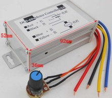 The Best ! 12v dc motor speed controller  PWM DC Converter 9V - 60V 10A DC Motor Speed Controller
