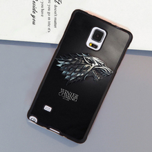 Game of Throne Winter is coming Soft Rubber Cell Phone Case OEM For Samsung S3 S4 S5 S6 S7 edge plus Note 3 Note 4 Note 5 Cover