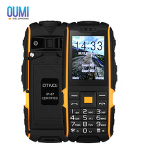 DTNO.I A9 Quad Band Smartphone 2.4 inch IP67 Waterproof Dustproof Shockproof FM Flashlight Camera 4800mAh Battery Mobilephone