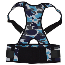 New Unisex Adjustable Posture Back Support Back Straightener Corrector Brace Strap Shoulder Band Belt(China)