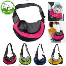 4 Color New Portable Puppy Pet Dog Backpack Travel Tote Carrier Bags(China)