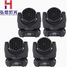 (4 pieces/lot) DMX-512 Moving Head Light RGBW LED Stage PAR36 X 3W Professional Party Disco Show AC 100-240V Sound Active(China)
