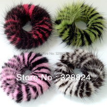 New Real Genuine Mink Fur Hair Band Tail Accessories