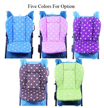 Baby Seat Cushion for Stroller Cotton Anti-Slip Kids Child Carriage Chair Car Umbrella Cart Pram Liner Cushion Baby Stroller Mat