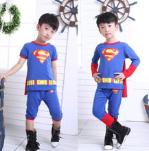 superman costume for boys superman suit superman party supplies birthday gift for boys halloween cosplay costumes party clothing