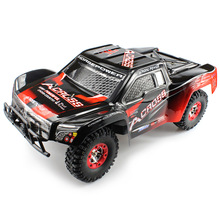 New WLtoys No. 12423 Remote Control Car 1 / 12 2.4GHz High Speed 4WD Bright LED Light Waterproof Radio Control Climbing Car(China)