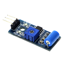 SW-420 Normally Closed Vibration Sensor Module for Alarm System DIY Smart Vehicle Robot Helicopter Airplane Aeroplane Boart Car(China)