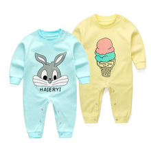 Fashion 2017 spring autumn baby rompers cotton unisex polo baby boys girls baby jumpsuits new baby clothies Bebes 3M- 24M