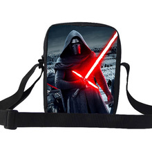 Hot Character Shoulder Bags For School Boys Girls Star Wars Messenger Bags For Children Star Wars Shoulder Bag For Kids Teenager