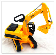 1:22 Large Excavator Track excavator baby hook favorite toys(China)