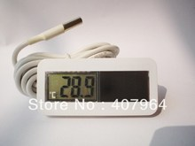 Energy Saving Solar Powered Digital thermometer with temperature probe