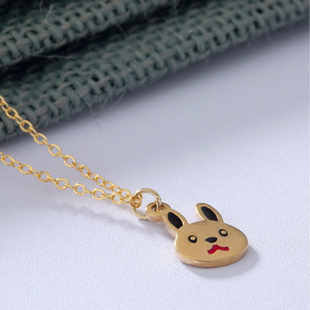 QIAMNI-Lovely-Rabbit-Animal-Bunny-Chain-Pendant-Necklace-Birthday-Pet-Lover-Gift-for-Women-K (2)