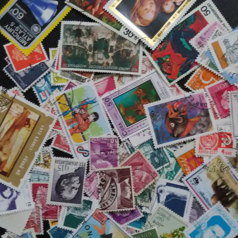 100pcs/lot postage stamps Good Condition Used With Post Mark From All The World stamp Brand collecting<br><br>Aliexpress