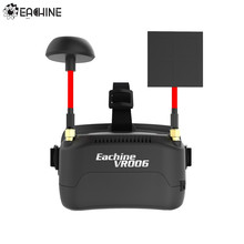 In Stock!! Eachine VR006 VR-006 3 Inch 500*300 Display 5.8G 40CH Mini FPV Goggles Build in 3.7V 500mAh Battery(China)