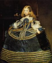 Handmade oil painting reproduction of Velazquez famous artist oil painting old master portrait painting(China)
