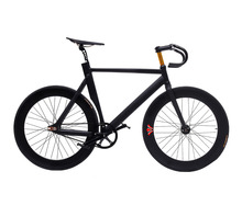 Fixed Gear Bike 53cm 55cm 58cm frame Muscular Aluminum alloy Frame Bicicleta Customize Track Bicycle 700C Wheel 70mm rim(China)