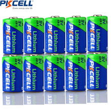 10PCS*PKCELL CR2 15270 CR15H270 3V 850mAh CR2 3V Lithium Battery(China)