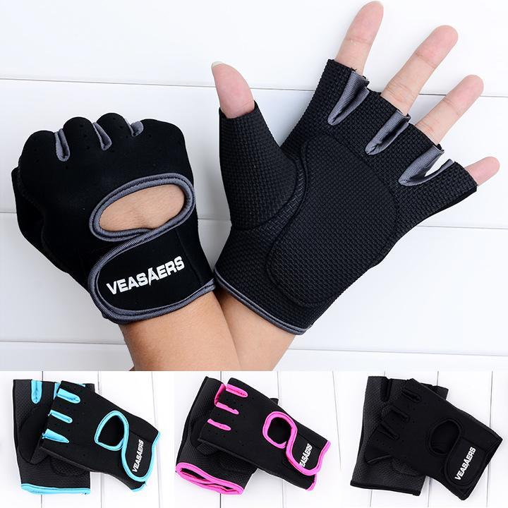 GYM Fitness Sport Cycling Exercise Half Finger Gloves For Bike Motorcycle